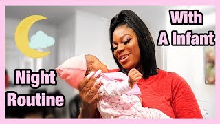 Realistic Newborn Night Time Routine + Chit Chat | Black Family Edition