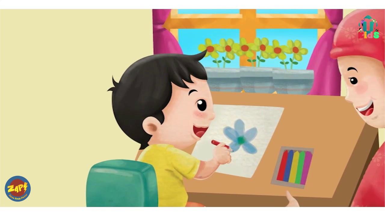 Download 630  Gambar Animasi Menyiram Bunga HD Free