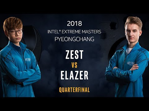 StarCraft II - Zest [P] vs. Elazer [Z] - Quarterfinal - IEM PyeongChang [1/2]