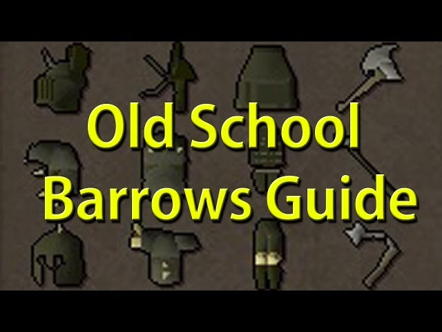 Runescape 2007 Barrows Safespot Guide - Old School RuneScape - RS07 - OSRS
