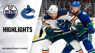 NHL Highlights | Oilers @ Canucks 12/01/19
