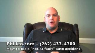 "How to File a ""Not At Fault"" Auto Accident Claim"