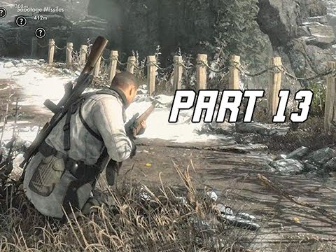Sniper Elite 4 Walkthrough Part 13 - ALLAGRA FORTRESS (PS4 Pro Let's Play Commentary)