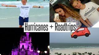 VLOG: Getting Caught in a Hurricane + ROADTRIP!!