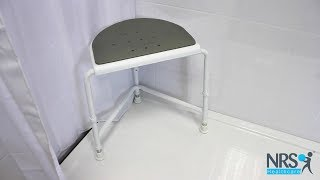 Nuvo Corner Shower Stool with Padded Seat Review