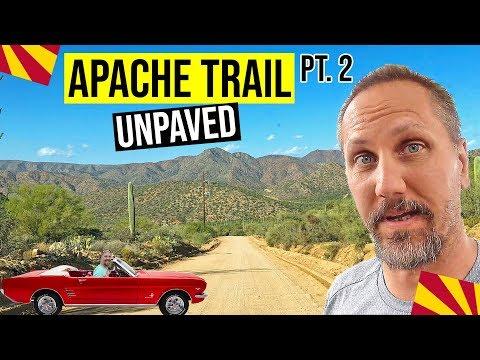 Apache Trail Scenic Drive, Arizona Pt. 2 (Unpaved)   Day Trips From Phoenix, AZ