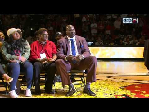 Miami Heat retire Shaquille O