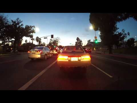 Driving from the California Science Center to Hollywood, CA