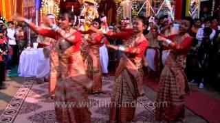 Traditional folk dance of Assam