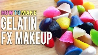 GELATIN FOR FX MAKEUP  How To Make