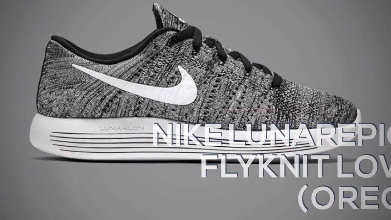 sports shoes 4f8cc 1d31e NIKE LUNAREPIC FLYKNIT LOW (OREO) / PEACE X9