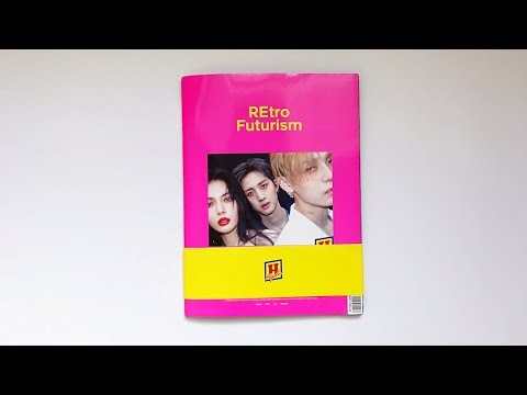A Dating Filled Unboxing Of Triple H's 트리플H Retro Futurism