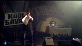 Kool Savas am 20.05.10 in Würzburg - Optik Anthem, Deutschlands Eins, Feuer