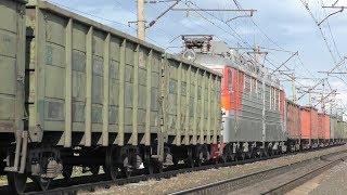 ВЛ80С-979 + ВЛ80С-2713 встречает ВЛ80С-1815