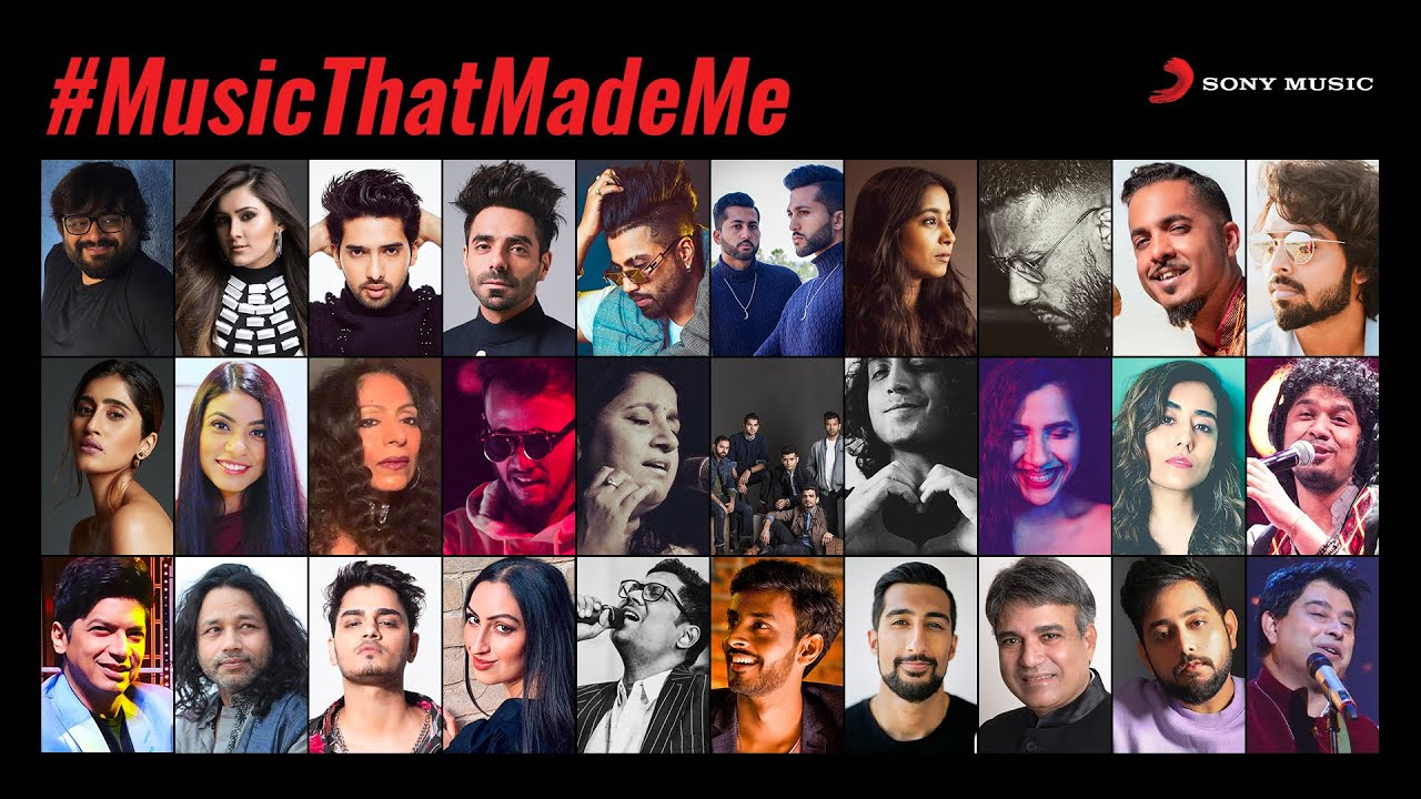 Sony Music India presents the #MusicThatMadeMe initiative.