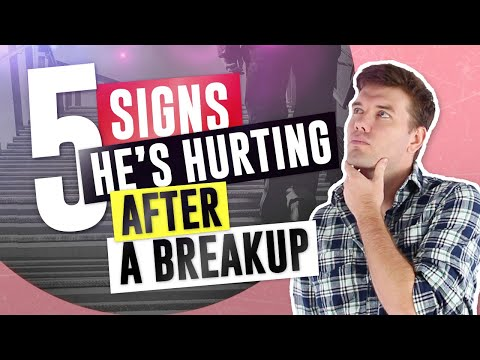5 Signs That He's Hurting After A Breakup (Guys' Behavior