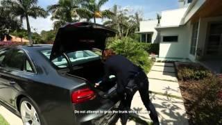 Audi A8 DTU Hand Free Trunk