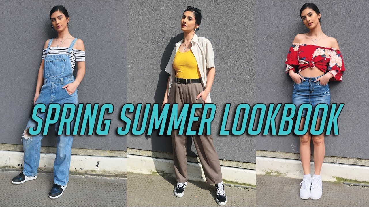 Spring Summer Lookbook | 3 Simple outfit ideas 2018 2