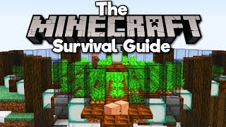 1.14 Villager Breeder & Auto Carrot Farm! ▫ The Minecraft Survival Guide [Part 208]