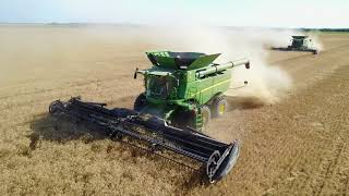 JKD Harvesting Wheat 2017