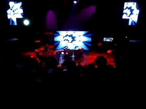 DJ Logic Bomb live at 4G festival, psychedelic music, Athens, Greece, 18-09-10