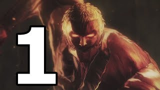 Attack on Titan 2 Walkthrough Part 1 - No Commentary Playthrough (PS4)