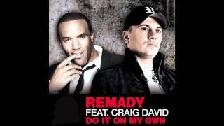 Repeat youtube video Remady ft. Craig David - Do It On My Own (Cover Art)
