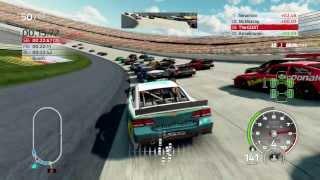 NASCAR 14 Career Mode Race 13 Dover Commentary Gameplay