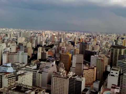 Edificio Italia Sao Paulo, terrace at top floor