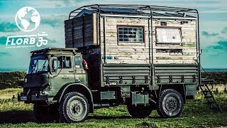 #VANLIFE? Check out this Military Truck Conversion Overlander