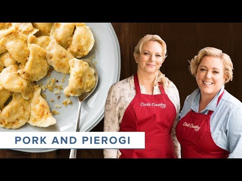 How to Make Homemade Pierogi and a Tender, Juicy Pork Roast
