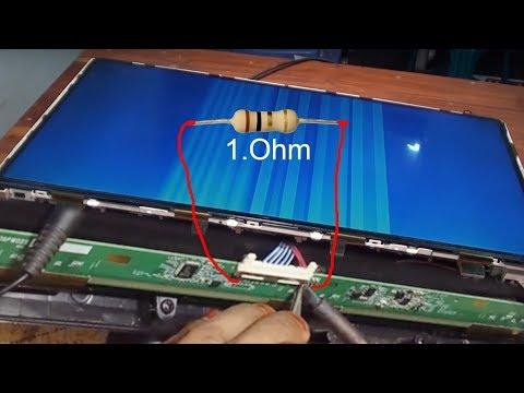 How To Repair LED LCD TV Panel '' By White Color Picture 100% Solution এলিডি প্যানেল মেরামত বাংলাদেশ