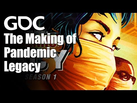 Board Game Design Day: The Making of Pandemic Legacy