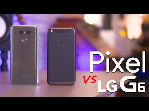 LG G6 vs Google Pixel!