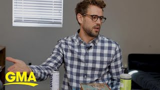 Nick Viall is encouraging people to stay home with these awesome videos l GMA Digital