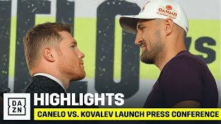 HIGHLIGHTS | Canelo vs. Kovalev Launch Press Conference