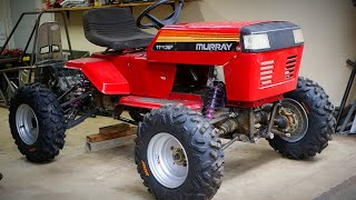 4x4 110HP Triple Riding Mower Build Part 5!