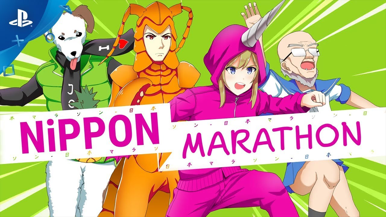 Nippon Marathon - Gameplay Trailer | PS4