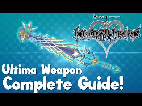 Kingdom Hearts HD 2.5 Remix - Ultima Weapon Complete Guide - Kingdom Hearts 2 Final Mix