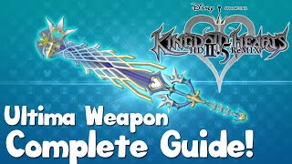Kingdom Hearts HD 2.5 Remix - Ultima Weapon Complete Guide - Kingdom Hearts 2 Final Mix