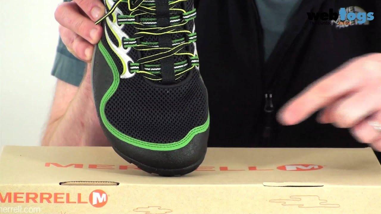 Merrell Men's Barefoot Running Trail Glove Shoes ...