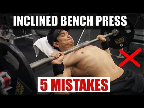 INCLINED BENCH PRESS (अपर चेस्ट का साइज बढ़ायें) STOP MISTAKES NOW!