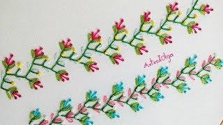 Bordado à mão: Pontos decorativos