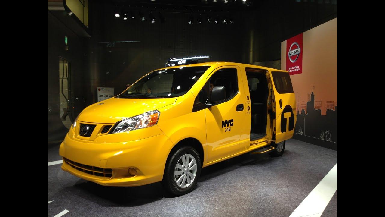 2013 nyc taxi nissan nv200