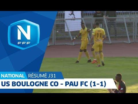 J31 : US Boulogne CO - Pau FC (1-1), le résumé I National FFF 2018