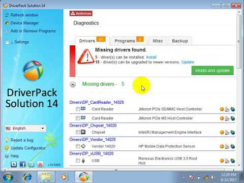 How To Download And Install Drivers For All Laptop PC Driver Pack Solution  [bangla tutorial 2017