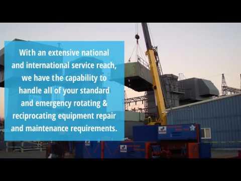 Turnkey Precision Rotating Equipment Maintenance & Repair Solutions