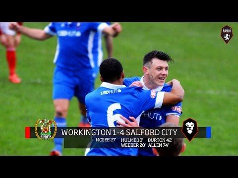 Workington AFC 1-4 Salford City   Evo-Stik Northern Premier League 14.11.15