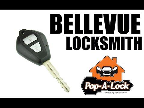 Bellevue Locksmith Pop-A-Lock Makes Automotive Keys   615 469-2418