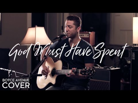 Music video Boyce Avenue - God Must Have Spent